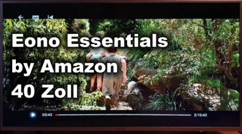 Eono Essentials by Amazon 40 Zoll