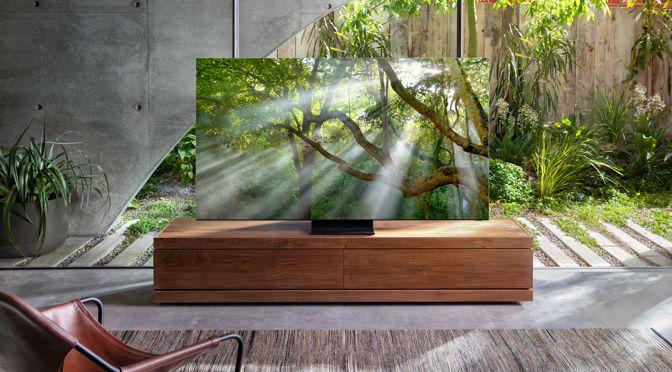 Samsung stellt QLED 8K Generation 2020 vor