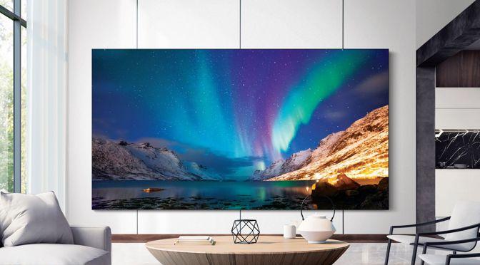 Samsung präsentiert auf der CES das zukünftige TV-Portfolio