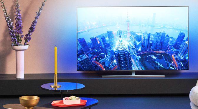 Philips TV im Jahr 2020: neue OLED-TV und neuer Premium Sound by Bowers & Wilkins