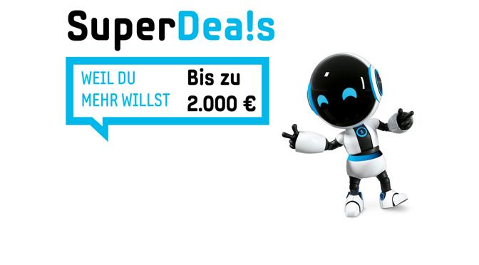 Die Samsung SuperDeals sind zurück: bis zu 2.000 Euro sparen