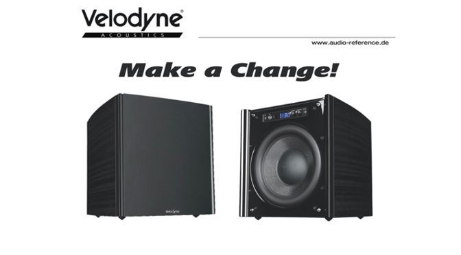 "Velodyne Acoustics DD-10 Plus Subwoofer – Trade-In-Aktion ""Make a Change"""