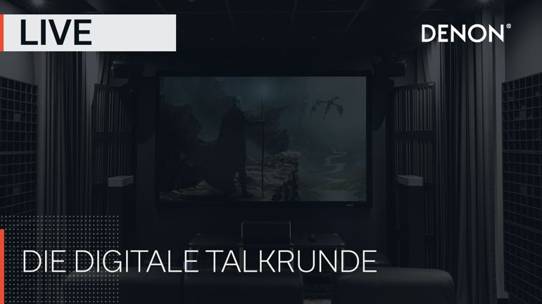 Denon startet neues Digitalformat DENON LIVE – die digitale Talkrunde