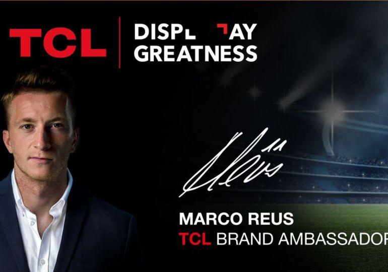 TCL präsentiert Fußballstar Marco Reus als Markenbotschafter