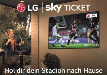 Aktion: SKY Supersport Ticket beim Kauf eines LG Smart TV Aktionsmodells