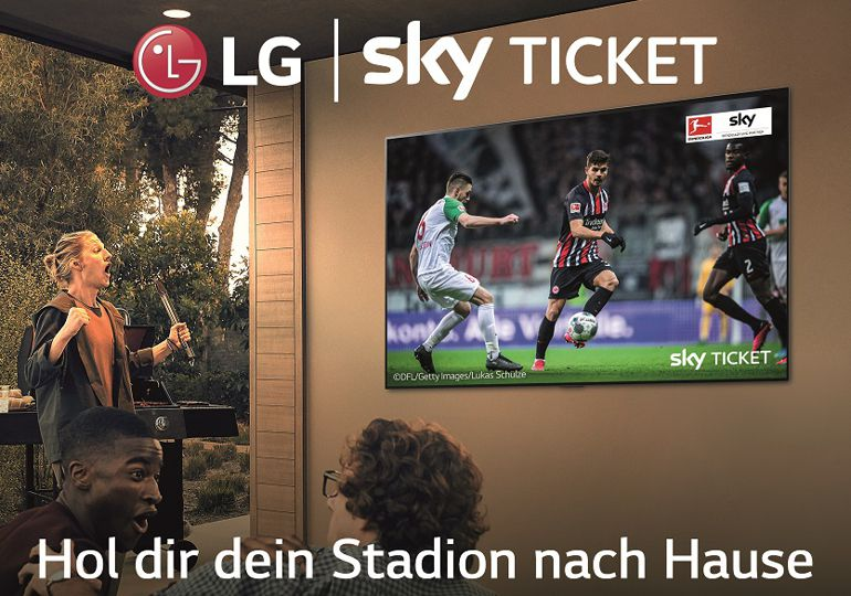 Aktion: SKY Supersport Ticket beim Kauf eines LG Smart TV Aktionsmodells