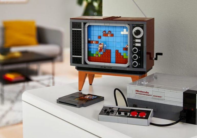 Die Kooperation von Nintendo und Lego treibt seltsame Blüten