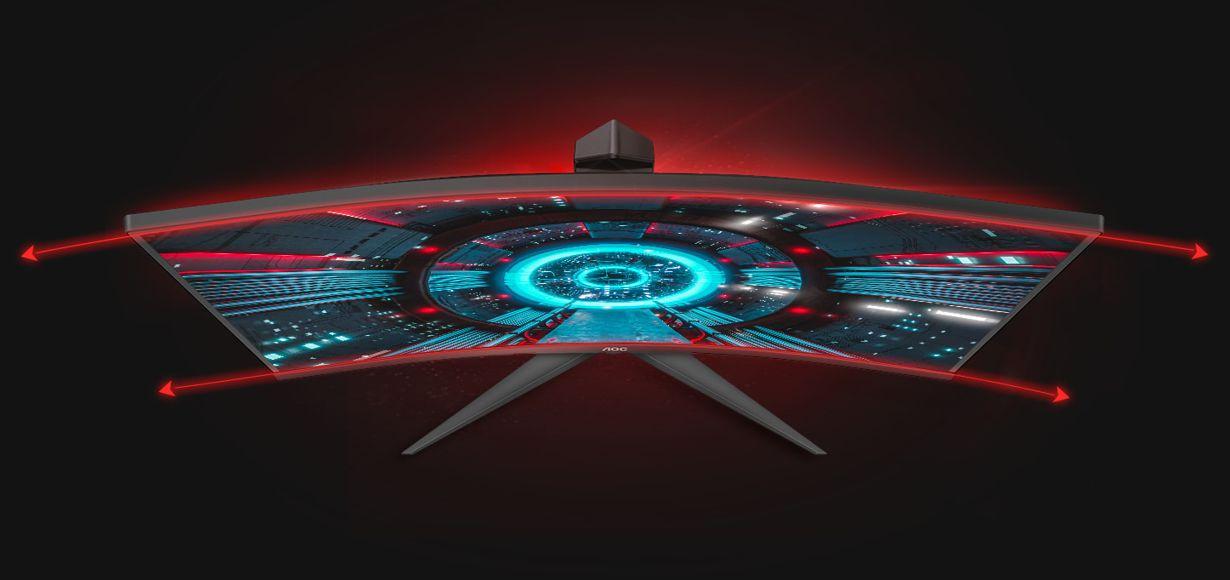 Vier gewinnt: AOC stellt neue Curved-Gaming-Displays mit 1500R und 165 Hz vor