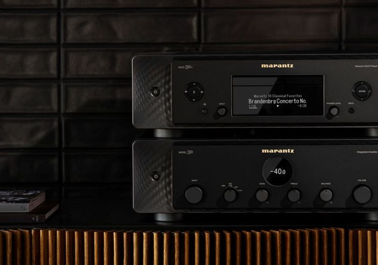 Modern Musical Luxury: Marantz MODEL 30 und Netzwerk-SACD-Player SACD 30n