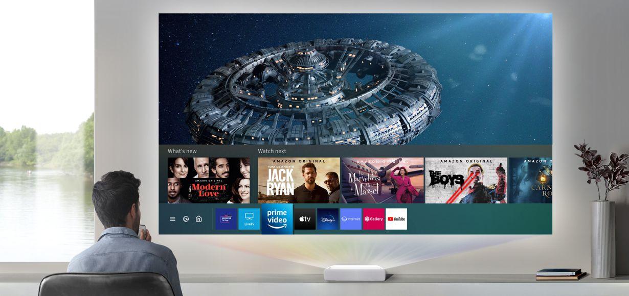 "Samsung präsentiert den 4K-Ultra-Kurzdistanz-Projektor ""The Premiere"""