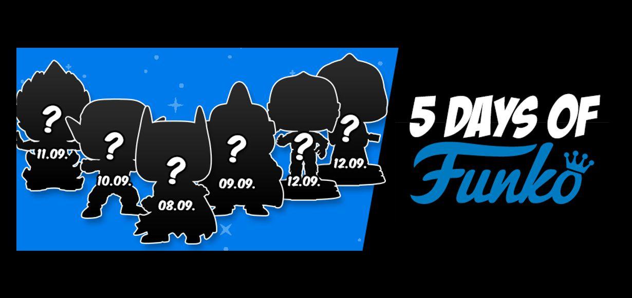 """""""5 Days of Funko"""" – Exklusive Funko Pop! Sammelfiguren nur bei GameStopZing"""