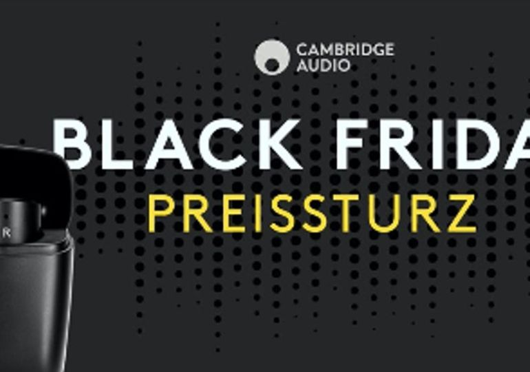 CAMBRIDGE AUDIO MELOMANIA 1 AM BLACK FRIDAY ZUM BESTPREIS