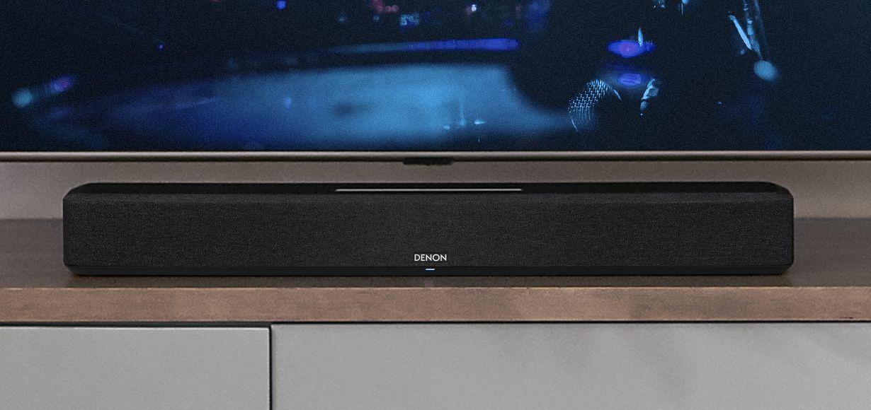 Denon erweitert sein Denon Home Sortiment an Hi-Res-Multiroom-Lautsprechern um eine Premium-Soundbar