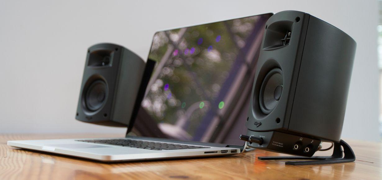 Klipsch präsentiert ProMedia 2.1 BT: legendärer Klipsch Sound für den Schreibtisch