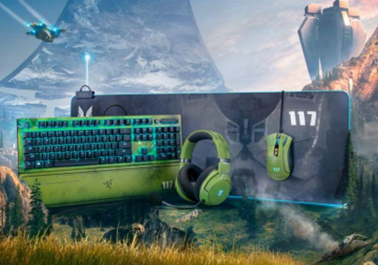 Gamer werden zum Master Chief mit lizenzierter Halo Infinite-Peripherie von Razer
