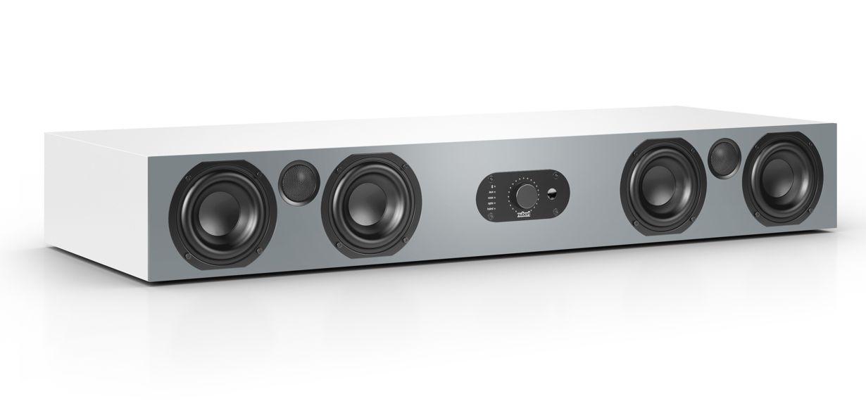 Nubert erweitert die neue nuBoxx Serie um die Soundbar AS-425 max für Film-, Gaming- und HiFi-Fans