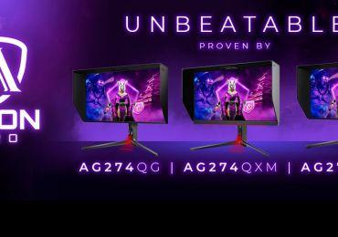 AGON PRO Displays mit bis zu 240 Hz, HDR und schnellen IPS-Panels für außergewöhnliches Gaming