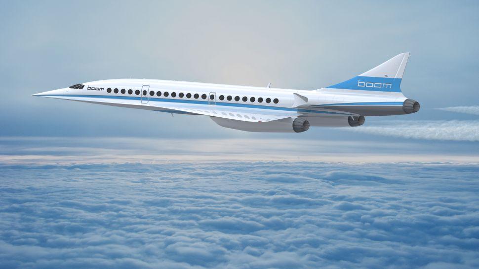 """Boom Technology"" viršgarsinis lėktuvas"