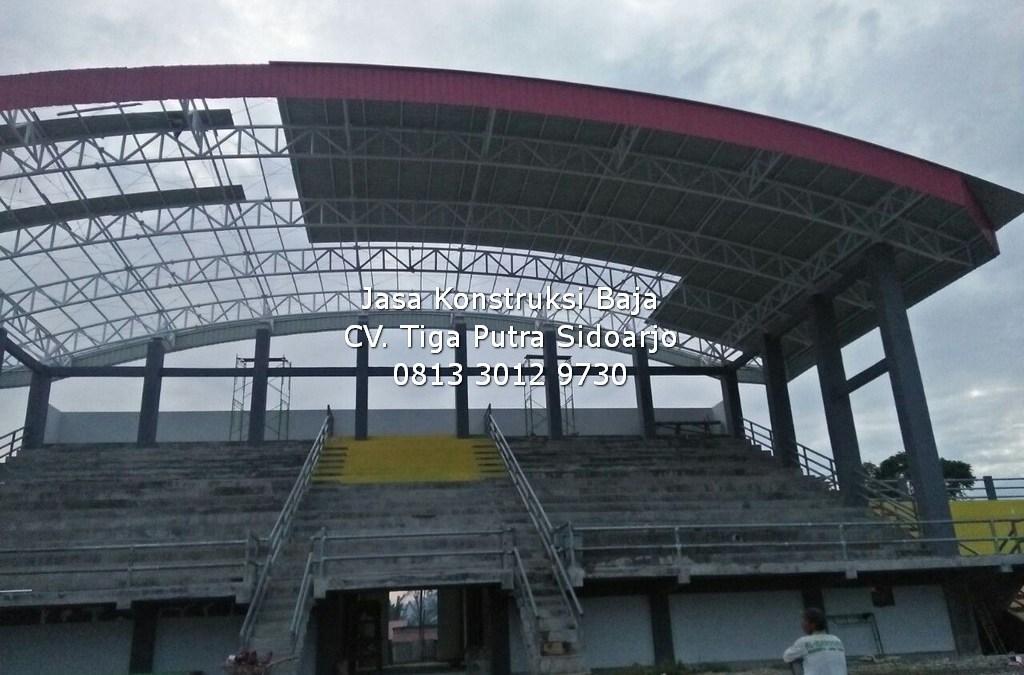 Konstruksi Baja Tribun Stadion   H. YAYAR FUAD 0813 3012 9730