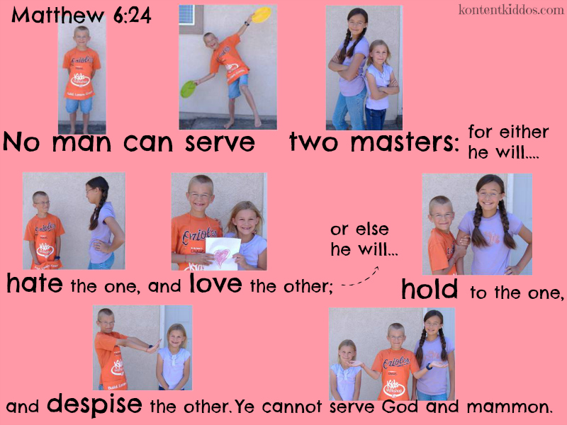 Scripture memorizing at its best