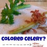Colored Celery?