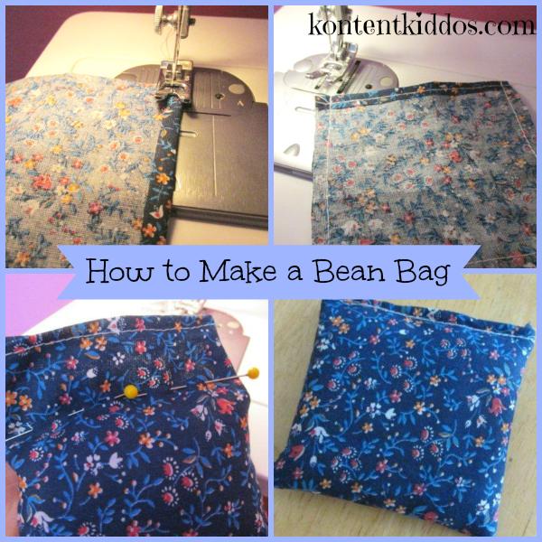how to make led bean bags