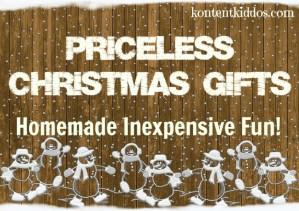 Homemade Christmas Gifts for Kids