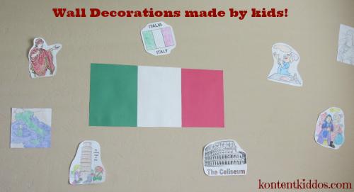 Italy wall decor