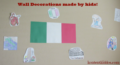 Italy wall decor