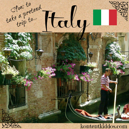 pretend to visit Italy