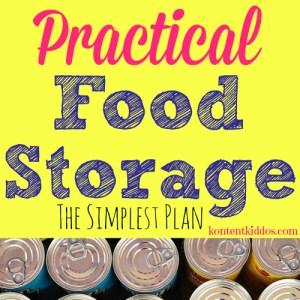 Practical Food Storage
