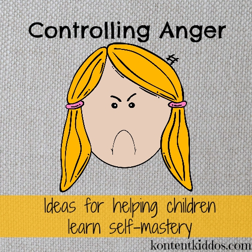 Help your child learn to control anger