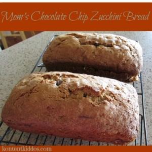 Mom's Chocolate Chip Zucchini Bread