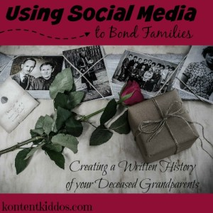 Creating a Written History for your Deceased Grandparents