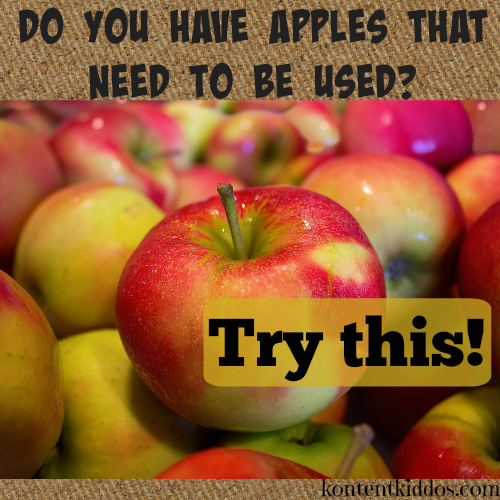 Are you wondering what else you can make with apples? Especially the ones past their prime? Try this method of preserving and a fun recipe.