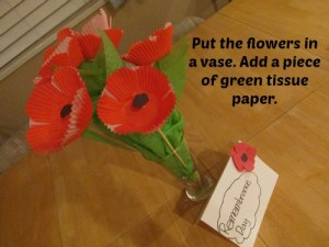 Remembrance Day Centerpiece