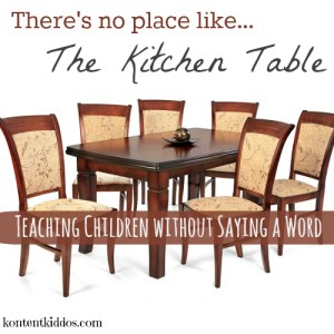 There's No Place Like the Kitchen Table