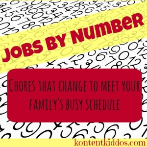 Jobs by Number a Versatile Job Chart