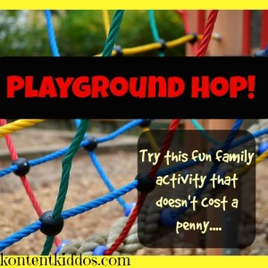 Playground Hop! –A Family Activity