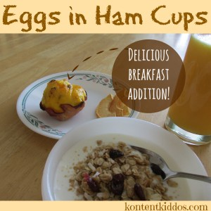 Eggs in Ham Cups