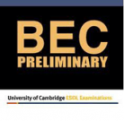 Business English Certificate (BEC1) Preliminary