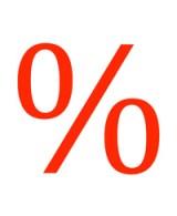Prozentzeichen
