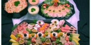 Saladeschaal voor 10 personen