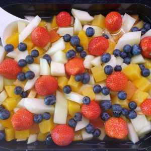 Fruitsalade 2 bekers voor