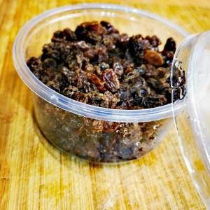 Rozijnen – per bakje
