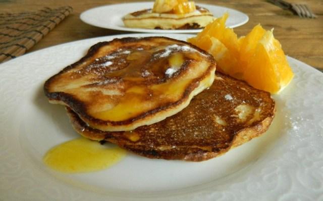 Yoghurt pannenkoekjes met sinaasappel