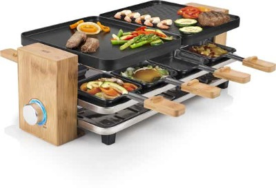 Princess 162910 Raclette Pure 8 Gourmetset small