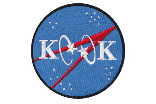 Kook NASA Patch