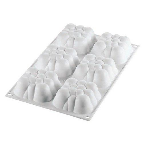 moule silicone mini cloud nuage x6