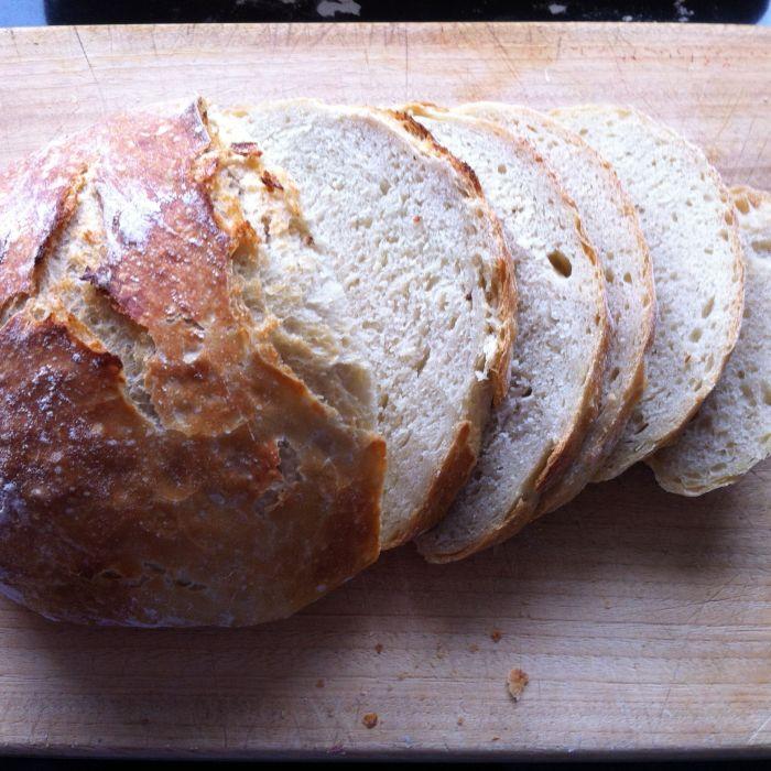 Brood bakken zonder kneden